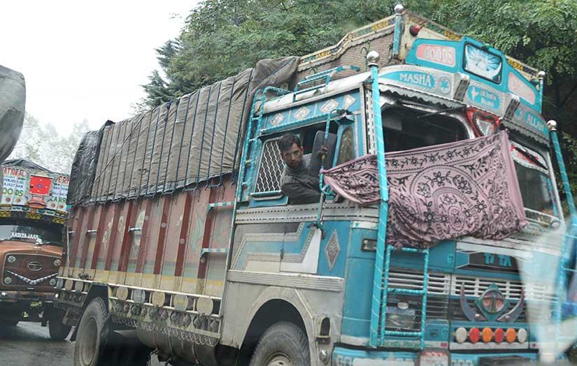 मुक्काम  : जवाहर टनेल, काश्मीर